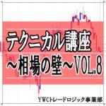 テクニカル講座~相場の壁~ VOL.8
