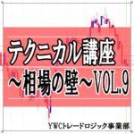 テクニカル講座~相場の壁~ VOL.9