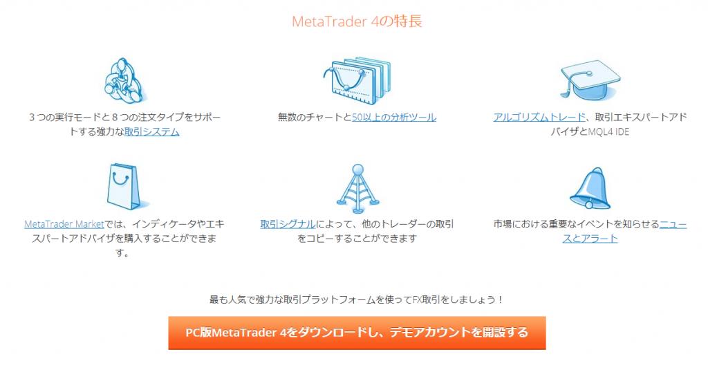 MT4ダウンロード/FXトレーダーブログ