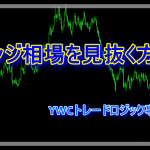 レンジ相場を見抜く方法 FXトレーダーブログ YWCトレードロジック事業部