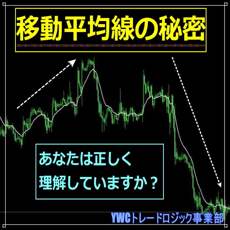 FXチャートでの移動平均線の秘密 あなたは正しく理解していますか?|FXトレーダーブログ|YWCトレードロジック事業部